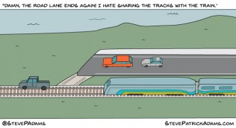 if roads were like bike lanes